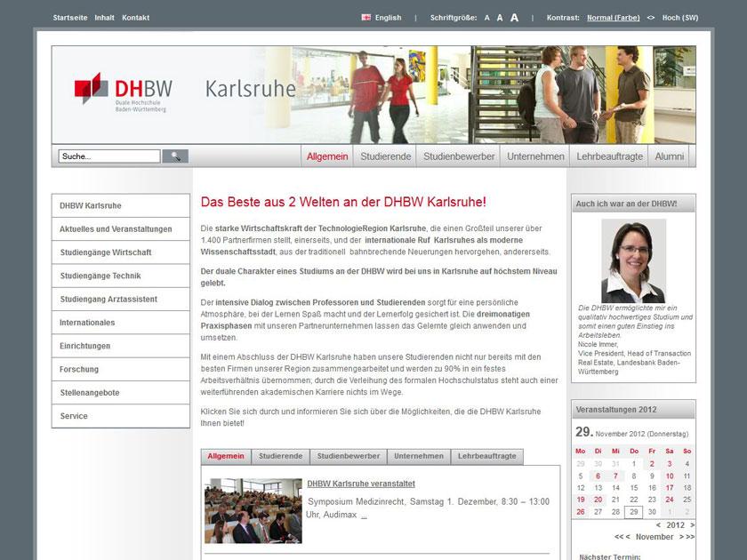 Duale Hochschule Baden-Württemberg Karlsruhe